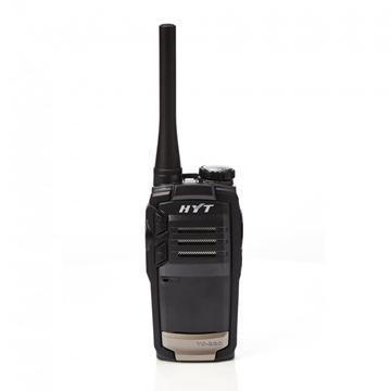Picture of HYT TC320 PMR446 Walkie-Talkie Two Way Radio & G-Shape Earpiece with Mic & PTT (New)