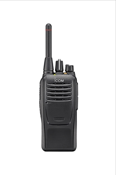 Picture of Icom IC-F29SR2 PMR446 Walkie-Talkie Two Way Radio & G-Shape Earpiece with Mic & PTT (New)