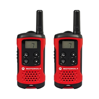 Picture of Motorola T40 PMR446 Walkie-Talkie Two Way Radio Red (Twin Pack) (New)