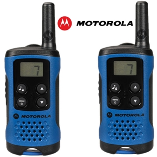 Picture of Motorola T41 PMR446 Walkie-Talkie Two Way Radio Blue (Twin Pack) (New)