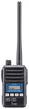 Picture of Icom IC-F51 VHF ATEX Walkie-Talkie Two Way Radio (New)