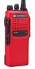 Picture of Motorola GP340 UHF Walkie-Talkie Two Way Radio (Refurbished) Red