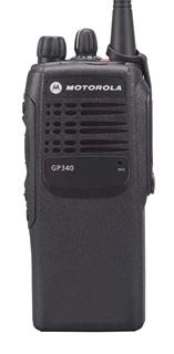 Picture of Motorola GP340 VHF Walkie-Talkie Two Way Radio (Refurbished)