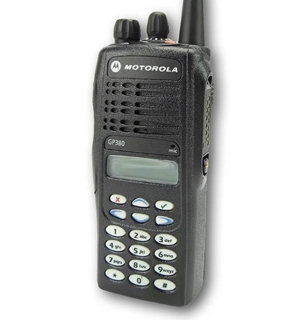 Picture of Motorola GP380 VHF Walkie-Talkie Two Way Radio (Refurbished)