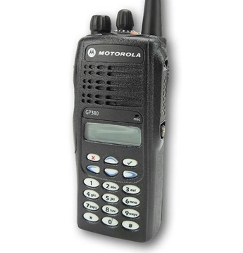 Picture of Motorola GP380 VHF Walkie-Talkie Two Way Radio (Refurbished)