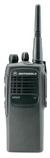 Picture of Motorola GP640 UHF Walkie-Talkie Two Way Radio (Refurbished)
