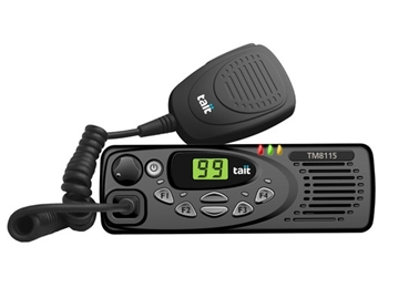 Picture of Tait TM8115 Low Band  Mobile Radio (New)