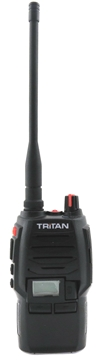 Picture of Tritan Business Professional UHF Walkie-Talkie Two Way Radios & G-Shape Earpieces - Twin Pack  (New)