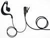 Picture of Alan G-Shape Earpiece with Mic & PTT (S3) - By Radioswap