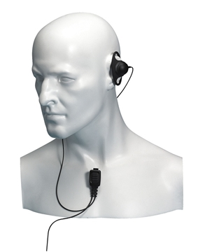 Picture of Entel EA12/450 D-Shape Earpiece with Mic & PTT For HX Series (New)