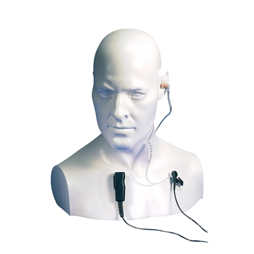 Picture of Entel EA15/950 ATEX Approved Covert Acoustic Tube Earpiece with Mic & PTT (New)