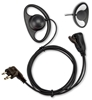 Picture of HYT D-Shape Earpiece with Mic & PTT (M1) - By Radioswap