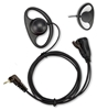 Picture of HYT D-Shape Earpiece with Mic & PTT (M6) - By Radioswap