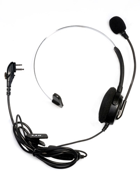 Picture of HYT ECM12 Light Weight Single Ear Headset with VOX (M1) (New)