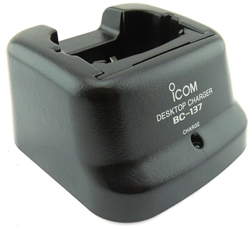 Picture of Icom BC137 Standard Desktop Charger & BC-01 PSU (New)