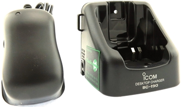 Picture of Icom BC190 Desktop Charger & BC-145 PSU (New)