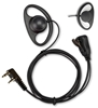Picture of Icom D-Shape Earpiece with Mic & PTT (S3) - By Radioswap