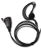 Picture of Icom G-Shape Earpiece with Mic & PTT (S3) - By Radioswap