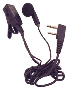 Picture of Icom HM128L Earbud Earphone with Mic & PTT (S3) (New)
