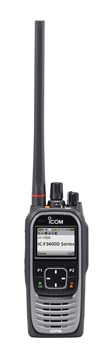 Picture of Icom IC-F3400DS VHF Dpmr Walkie-Talkie Two Way Radio (New)