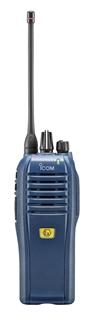 Picture of Icom IC-F4202DEX UHF ATEX IDAS Walkie-Talkie Two Way Radio (New)