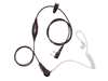 Picture of Kenwood Deluxe One Wire Covert Acoustic Tube Earpiece with Inline Mic & PTT (K1) - By Radioswap Premium