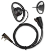 Picture of Kenwood D-Shape Earpiece with Mic & PTT (K1) - By Radioswap