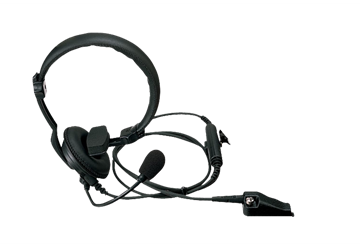 Picture of Kenwood KHS14 Light Weight Single Muff Headset with Boom Mic (K1) (New)
