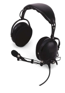 Picture of Kenwood KHS15OH Heavy Duty Over The Head Headset with Boom Mic (K1) (New)