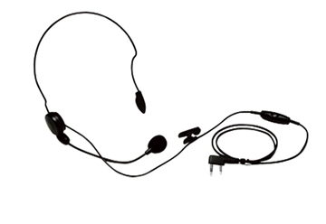 Picture of Kenwood KHS22  Lightweight Headset with Boom Microphone & PTT (K1) (New)