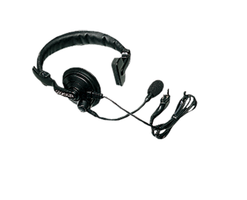 Picture of Kenwood KHS7 Lightweight Single Speaker Headset with Boom Mic & PTT (K1) (New)