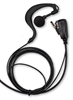 Picture of Mitex SFE G-Shape Earpiece with Mic & PTT (K1) - By Radioswap