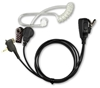 Picture of Motorola Covert Acoustic Tube Earpiece with Mic & PTT (MTH3) - By Radioswap