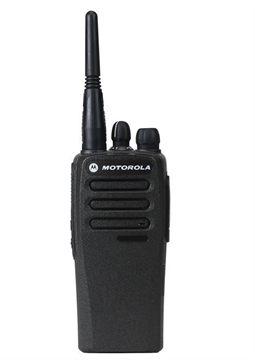 Picture of Motorola DP1400 UHF  Analogue Two Way Radio with G-Shape Earpiece (New)