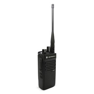 Picture of Motorola DP2400 UHF Walkie-Talkie Two Way Radio (Refurbished) & New Speaker Mic