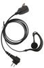 Picture of Motorola G-Shape Earpiece With Mic & PTT (M1) - By Radioswap