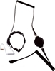 Picture of Puxing Heavy Duty Throat Mic with Large PTT & Covert Earpiece (K1) - By Radioswap
