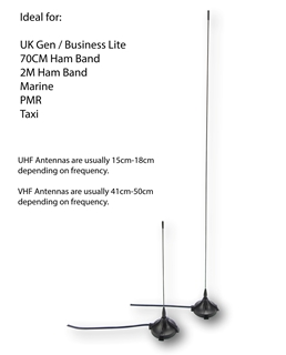 Picture of Puxing UHF Range Extender Micro Magmount Antenna - By Radioswap