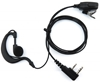 Picture of Quansheng G-Shape Earpiece with Mic & PTT (K1) - By Radioswap
