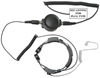 Picture of Quansheng Heavy Duty Throat Mic with Large PTT & Covert Earpiece (K1) - By Radioswap