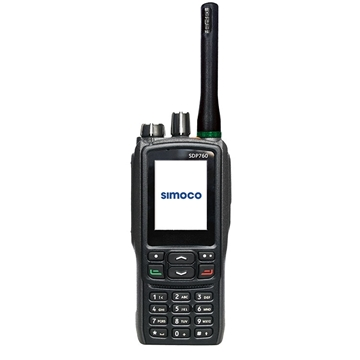 Picture of Simoco SDP760 UHF (T1 Band) Walkie-Talkie Two Way Radio With GPS (New)