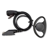 Picture of Tait D-Shape Earpiece with Mic & PTT (TP8XXX) - By Radioswap