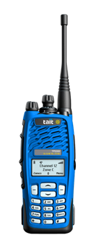 Picture of Tait TP9361 EX - UHF Atex Tri-mode Handportable (New)