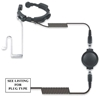 Picture of TYT Heavy Duty Throat Mic with Large PTT & Covert Earpiece (K1) - By Radioswap