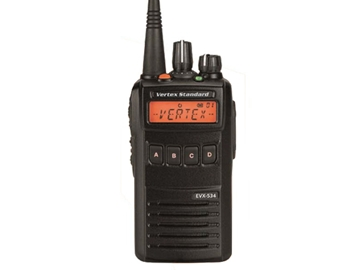 Picture of Vertex Everge EVX534 UHF  DMR Digital Handheld Two-Way Radio (New)