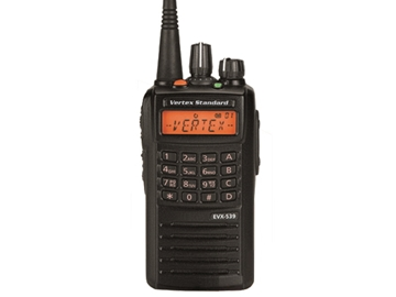 Picture of Vertex Everge EVX539 UHF  DMR Digital Handheld Two-Way Radio (New)