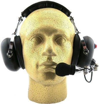 Picture of Weierwei Heavy Duty Ear Protection Headset with Noise Cancelling Boom Mic (K1) - By Radioswap