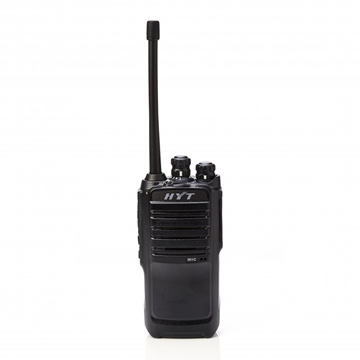 Picture of HYT TC446S PMR446 Walkie-Talkie Two Way Radio & D-Shape Earpiece with Mic & PTT (New)