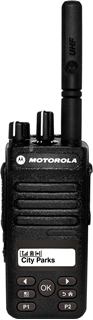Picture of Motorola DP2600E UHF DMR Digital Two Way Radio with Display (New)
