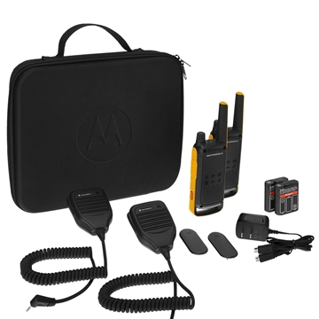 Picture of Motorola T82 Extreme RSM Pack Twin Pack Licence Free Two Way Radio Walkie Talkie - Education Pricing